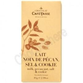 Cafe-Tasse Lait Noix de Pécan, Sel & Cookie Tablet