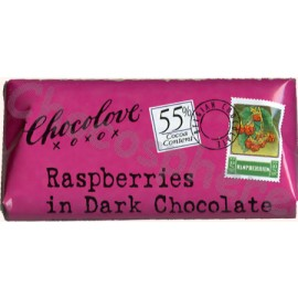 Chocolove Raspberries Mini-Bar 1.2oz