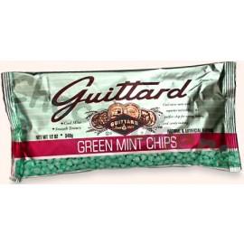 Guittard Green Mint  Chips, 12oz
