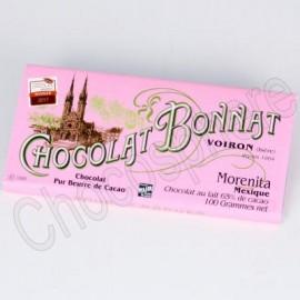 Bonnat Morenita Dark Milk Chocolate Bar 100g
