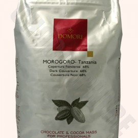 Domori Morogoro 68% Couverture Discs– 5Kg