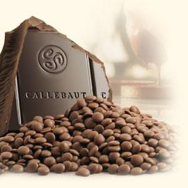 Callebaut 60-40-38NV Thin Bittersweet Callets 1Kg