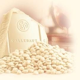 Callebaut CW2-NV White Chocolate Callets 1Kg