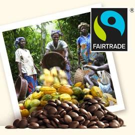 Callebaut Fair-Trade Thin 811-NV Semi-Sweet Callets 1Kg