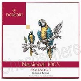 Domori Nacional 100% - Ecuador- 50g Bar