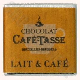 Cafe-Tasse Milk/Coffee Napolitans 50-Square Bag 250g