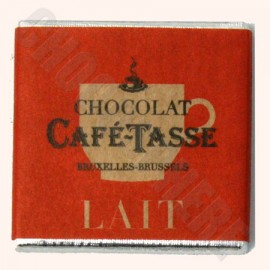Cafe-Tasse Milk Napolitans 50-Square Bag 250g