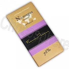 Pralus Nicaragua Dark Chocolate Bar, 75% Cacao