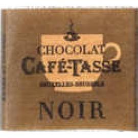 Cafe-Tasse Cafe-Tasse Noir Napolitain Semisweet Chocolate 5g Square