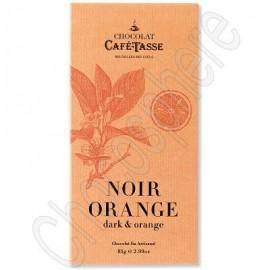 Cafe-Tasse Cafe-Tasse Noir Orange Tablet
