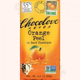 Chocolove Orange Peel Bar 3.2oz
