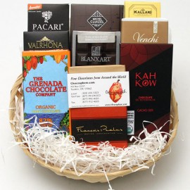 Chocosphere Chocosphere Organic Chocolate Assortment Basket 2014 - Medium
