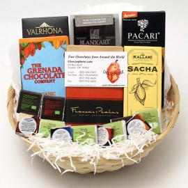 Chocosphere Chocosphere Organic Chocolate Assortment Basket 2014 - Small