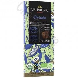 Valrhona Oriado Organic Dark Chocolate Bar