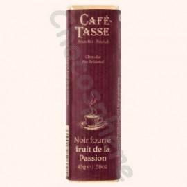 Cafe-Tasse Noir fourre Fruit de la Passion Bar  45g