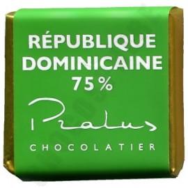 Pralus Dominican Republic BIO 75% Square