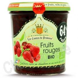Les Comtes de Provence Organic Mixed Red Fruit Spread - Fruits Rouges BIO
