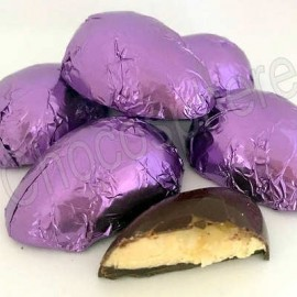 Suzanne's Chocolate Passion Fruit & Coconut Filled Half Egg