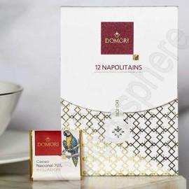 Domori Gift Box of 12 Single Origin Dark Napolitains 55g