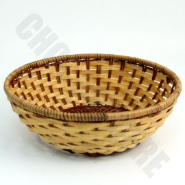 Chocosphere Round Wicker Basket – Add-on