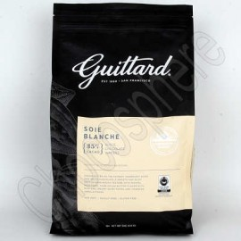 Guittard Soie Blanche White Chocolate Wafers - 3Kg Bag