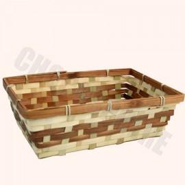 Chocosphere Rectangular Wicker Basket – Add-on