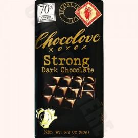 Chocolove Strong Dark Bar 3.2oz