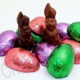 Suzanne's Chocolate Eggs & Bunnies Combo
