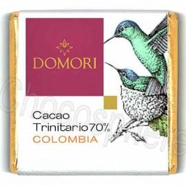 Domori Trinitario Colombia 70% Cacao Dark Chocolate Square