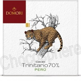 Domori Trinitario Peru Dark Chocolate Bar 70% Cacao