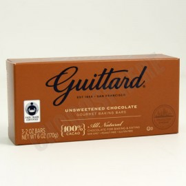 """Guittard """"Collection Etienne"""" Unsweetened 100% Baking Bar"""