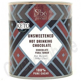 """Sibo Unsweetened """"Keto"""" Hot Drinking Chocolate Canister - 200g"""