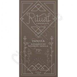 Ritual Chocolate Vanilla Blend Chocolate Bar