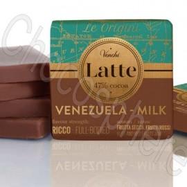 Venchi Venezuela Milk 47% Cacao Napolitain Tasting Squares