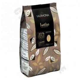 Valrhona Ivoire White Chocolate 'Les Feves