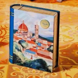"Venchi Chocoviar 'Firenze' Metal ""Mini-Book"" Assorted 6-piece Gift Box"