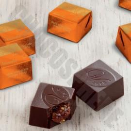 Venchi Orange-In-Black Cubes