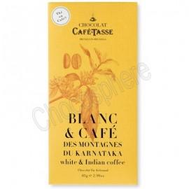 Cafe-Tasse Blanc & Cafe des Montagnes du Karnataka Tablet 85g